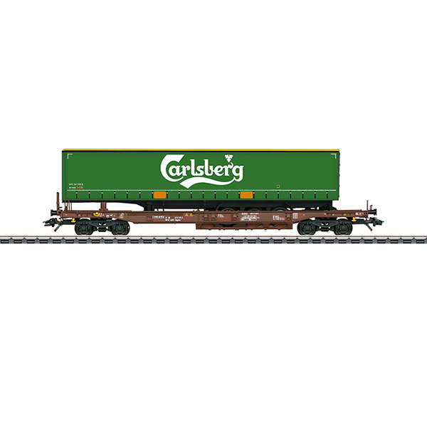 Marklin 47112 Carlsberg Deep Well Flat Car