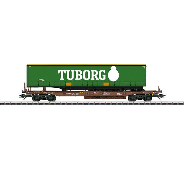 Marklin 47113 Tuborg Deep Well Flat Car