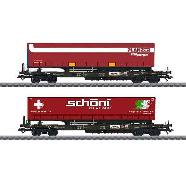 Marklin 47115 Deep Well Flat Car Set