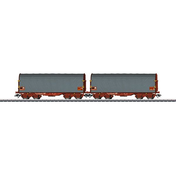 Marklin 47218 Sliding Tarp Car Set