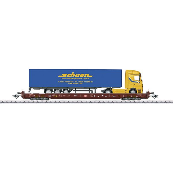 Marklin 47426 Type Saadkms 690 Depressed Floor End Flat Car