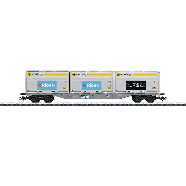 Marklin 47459 Type Sgnss Container Transport Car