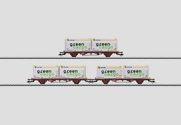 Marklin 47723 Container Transport Car Set