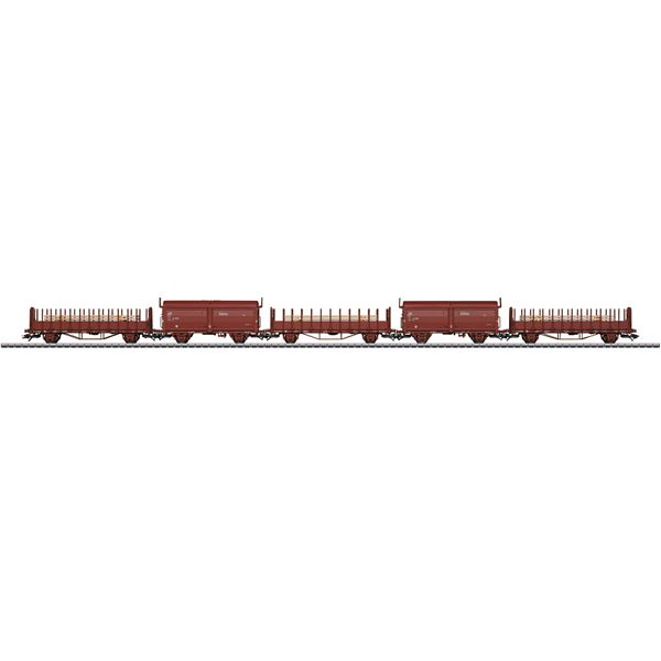Marklin 47733 3 type Oms stake cars
