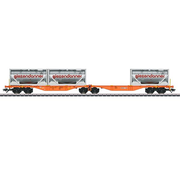 Marklin 47805 Type Sggrss Double Container Transport Car