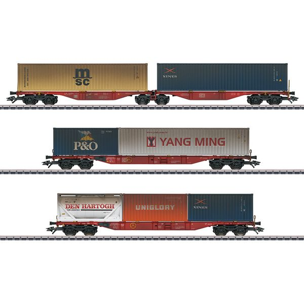 Marklin 47810 Container Transport Car Set
