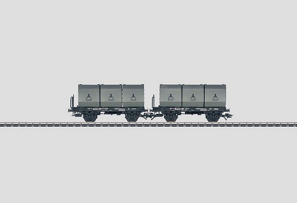 Marklin 48272 Set with 2 Container Cars