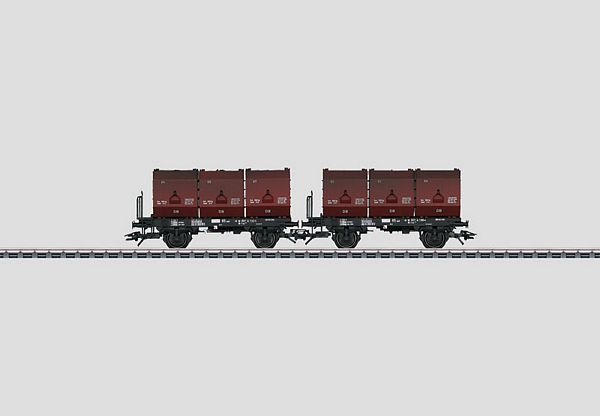 Marklin 48273 Set with 2 Container Cars F-zz 131