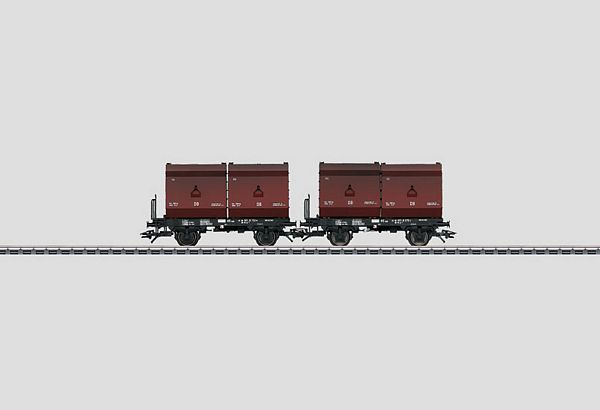 Marklin 48274 Set with 2 Container Cars Fb-zz 131