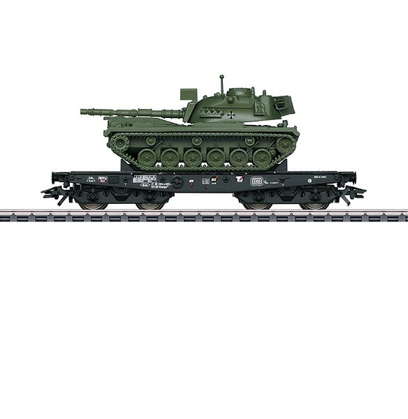 Marklin 48798 Type Rlmmps Heavy-Duty Flat Car