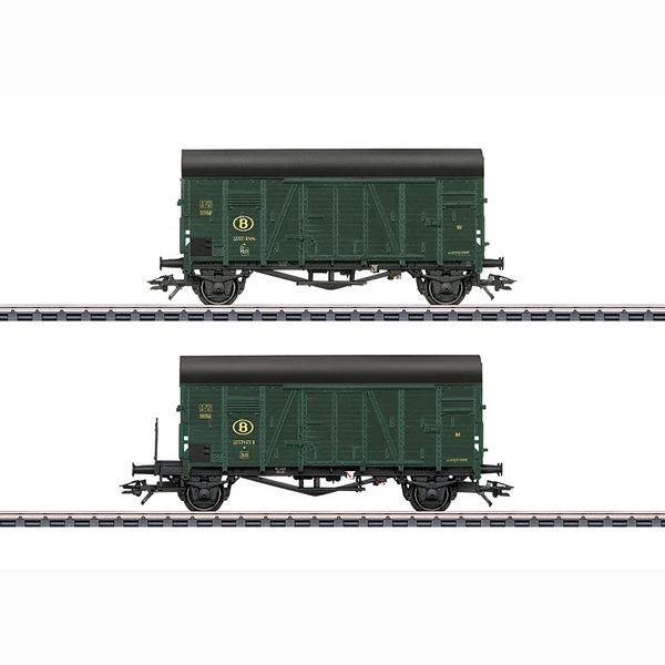 Marklin 48832 Two Oppeln Box Cars