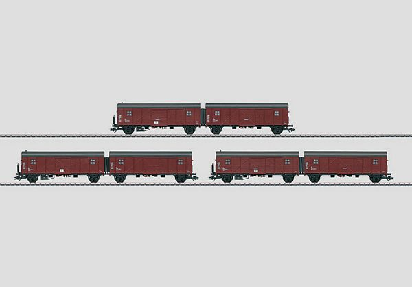Marklin 48850 3 German Federal Railroad DB Leig-Einheit
