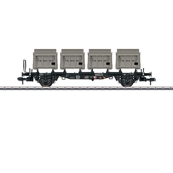 Marklin 58558 Type BTms 55 Container Transport Car