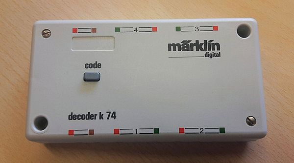 Marklin 6074 Digital Decoder K64