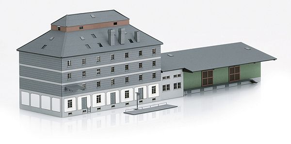 Marklin 72706 Raiffeisen Warehouse with Market