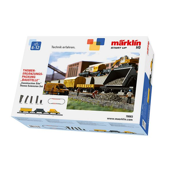 Marklin 78083 Construction Site Theme Extension Set