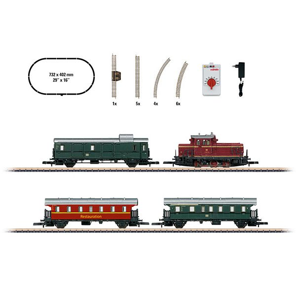 Marklin 81871 Museum Passenger Train Starter Set