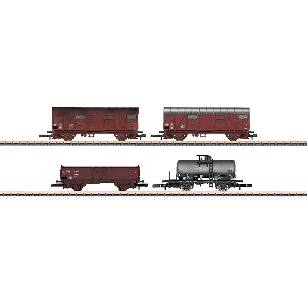 Marklin 82041 DR Freight Car Set Consisting of 4 Cars