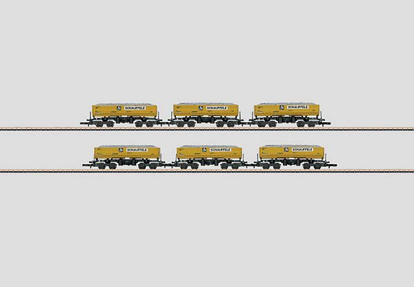Marklin 82434 Single Body -Single Side Dump Car Set
