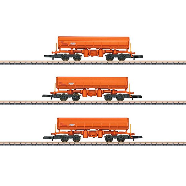 Marklin 82435 Type Eamos Side Dump Car Set