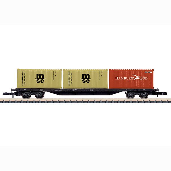 Marklin 82662 Type Sgs 693 Four Axle Container Transport Car