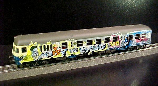 Marklin 84257 Graffiti End Car