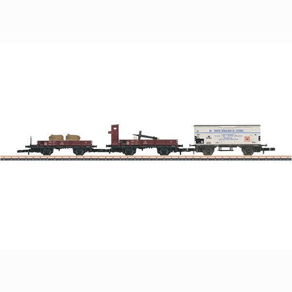 Marklin 86581 Freight Car Set 3 Different Cars