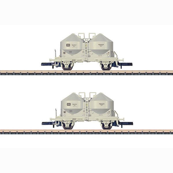 Marklin 86665 Powdered Freight Silo Car Set