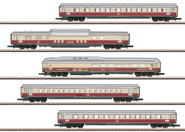 Marklin 87269 Rheingold Car Set