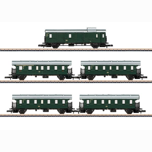 Marklin 87507 Hollentalbahn Passenger Car Set