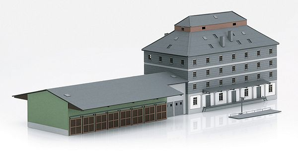 Marklin 89705 Raiffeisen Warehouse with Market