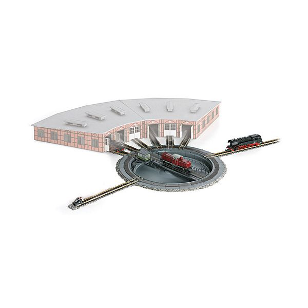 Marklin 89983 Turntable with 8 Spoke Tracks