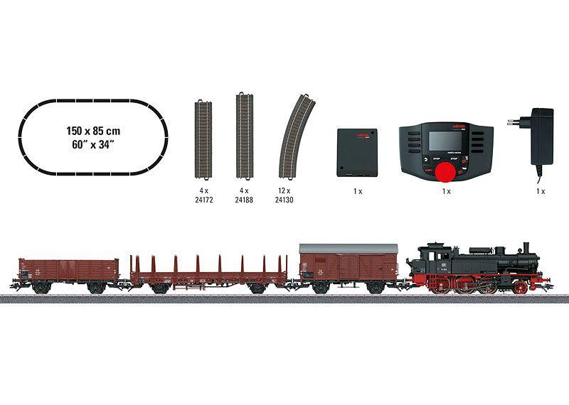 Marklin 29074 Marklin Start up Era III Freight Train Digital Starter Set