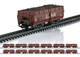 Marklin 00722 Display with 24 Erz Id Hopper Cars