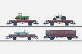 Marklin 00761 Set with 24 Freight Cars in a Farming Display