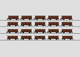 Marklin 00769 set with 4 Type Tes-t-58 Kmmgks Freight Cars