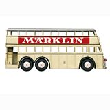 Marklin 18080 Double Decker Bus with Marklin Advertising
