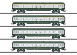 Marklin 40691 French Tin-Plate Express Train Passenger Car Set