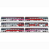 Marklin 42648 ICRm IC Express Train Passenger Car Set