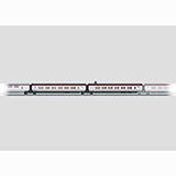 Marklin 43421 Add On Car Set 1 for THALYS PBKA