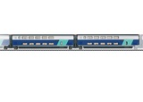 Marklin 43433 Add on Car Set 2 TGV Duplex EpVI