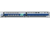Marklin 43443 Add on Car Set 3 TGV Duplex EpVI