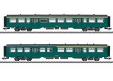 Marklin 43547 Pass Car Set M2 zReihe 1SNCB III