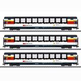 Marklin 43650 Gotthard Panorama Express Train Passenger Car Set
