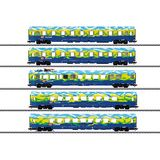 Marklin 43878 Tourism Train Passenger Car Set