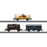 Marklin 44083 Construction Site Freight Car Set