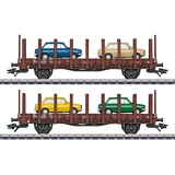 Marklin 46404 DAF 66 Flat Car Set