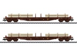 Marklin 47150 Lumber Flat Car Set