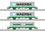 Marklin 47726 Type Lgns Container Flat Car Set