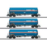Marklin 48488 Set with Three Type Zags and Zagkks Pressurized Gas Tank Cars